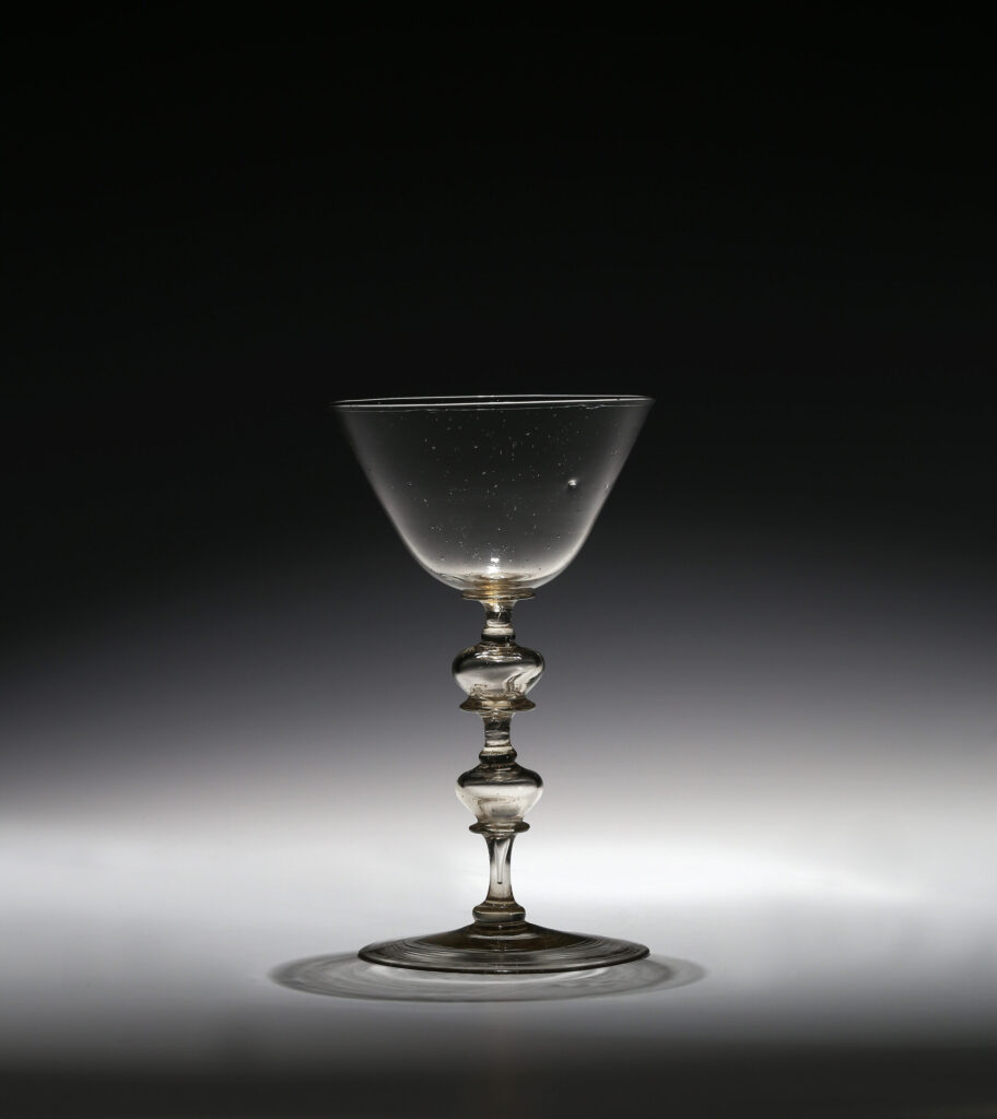 A NETHERLANDISH WINE GLASS