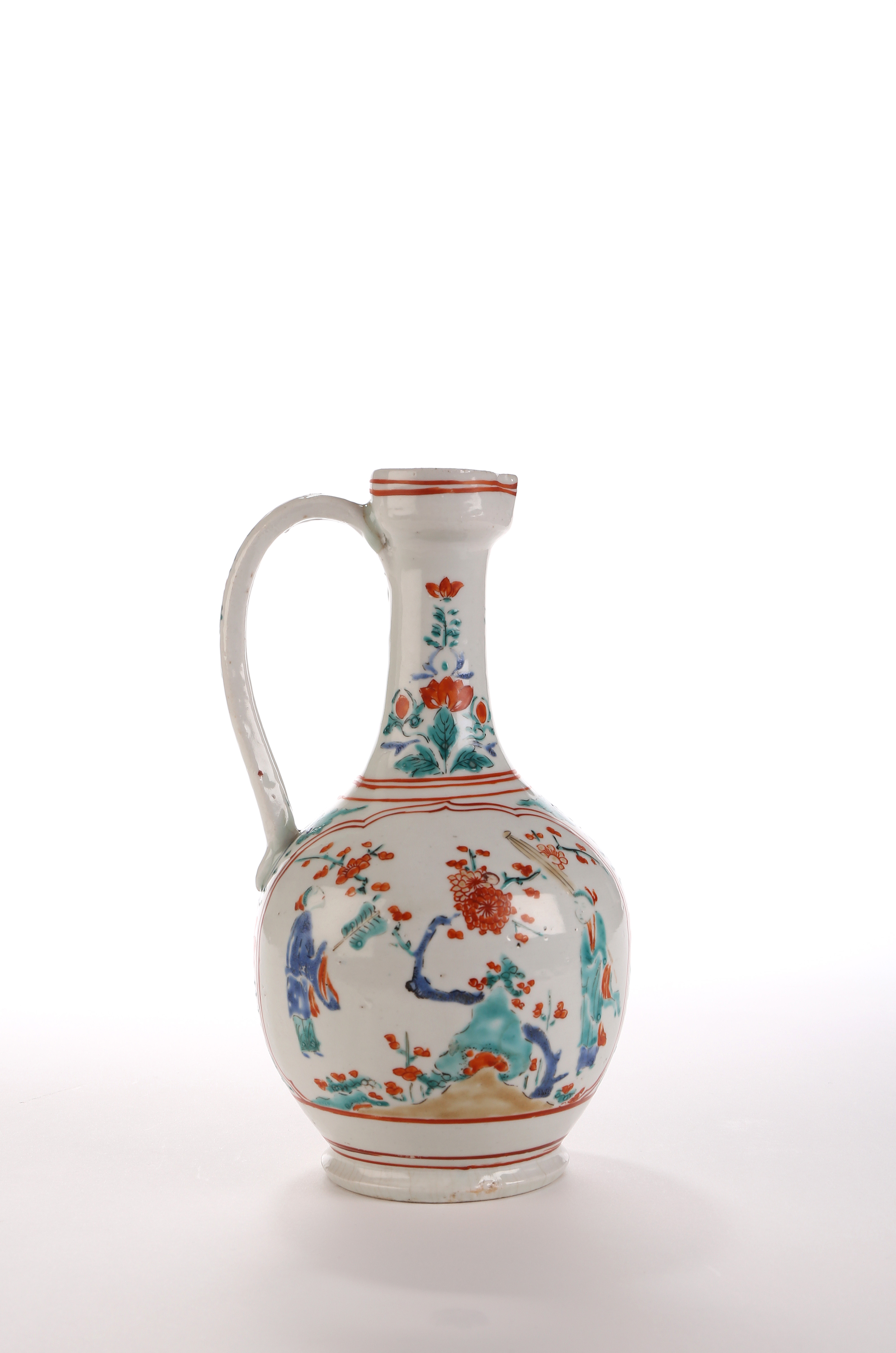 An Arita Kakiemon-type Ewer
