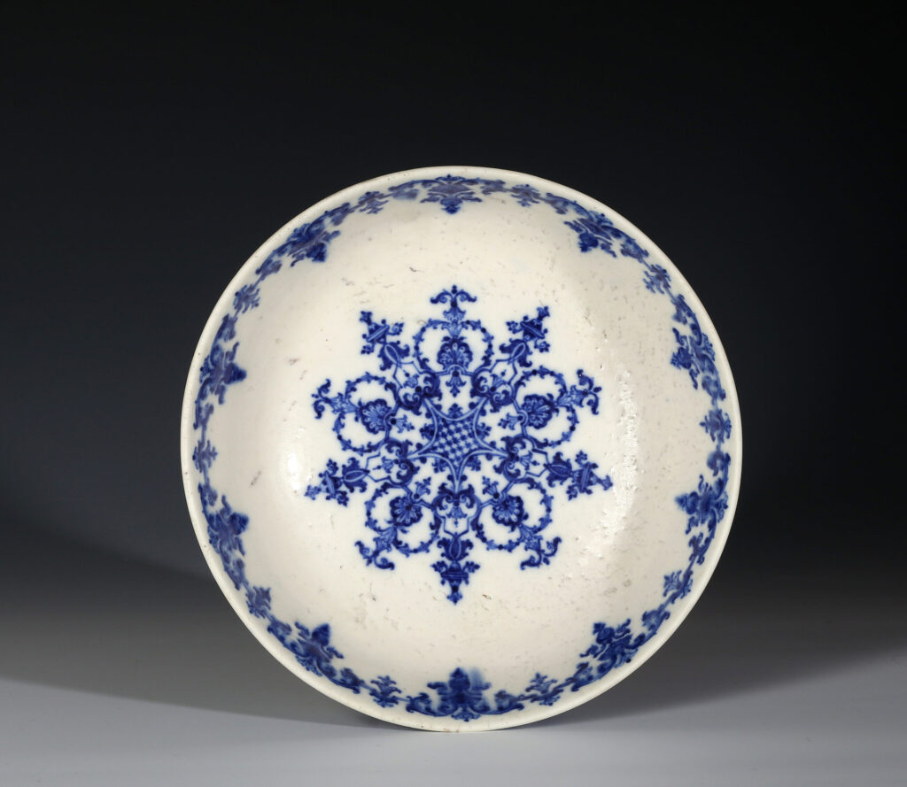 AN EARLY SAINT CLOUD BOWL